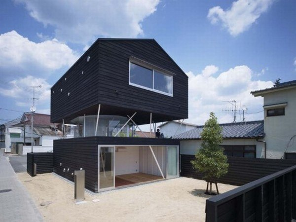 Casa japonesa casas y fachadas for Casa moderna japonesa