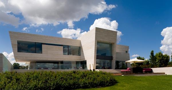 Impresionantes compact unifamiliar en madrid por a cero - Casas modernas madrid ...