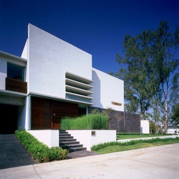 Fachada de casa incre ble arquitectura y dise o por agraz arquitectos casas y fachadas - Simple modern house architecture with minimalist rectangular design ...