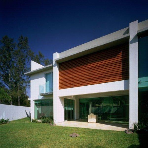 Fachada de casa incre ble arquitectura y dise o por agraz - Fachadas arquitectura ...
