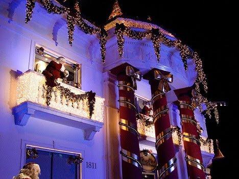 Fachadas de casas decoradas para navidad casas y fachadas - Decoracion navidad casas ...