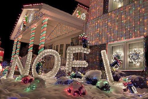Fotos Casas Decoradas Navidad.Fachadas De Casas Decoradas Para Navidad Casas Y Fachadas