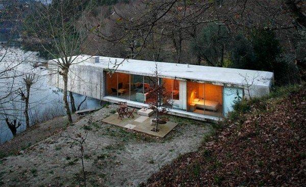 Casas de campo dise os ecologicos de casas rusticas casas for Riverfront home designs