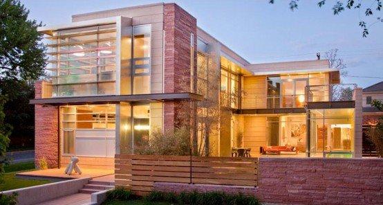 casa contemporanea de lujo