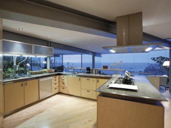 Dise o de casas de playa casas y fachadas - Beautiful houses interior kitchen ...