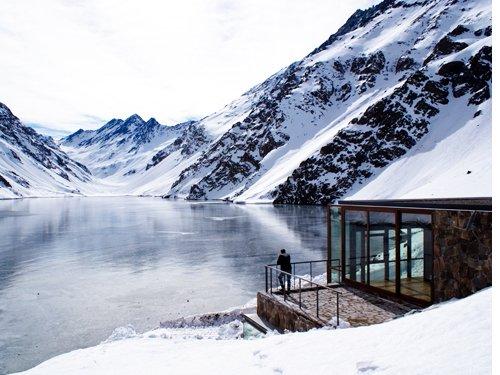 casa frente a lago 1