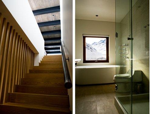 Casa minimalista situado a 2990 metros sobre el nivel del for Casa minimalista de 6 metros
