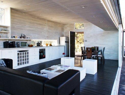 Dise o de interiores en casas de playa casas y fachadas for Diseno de la casa interior