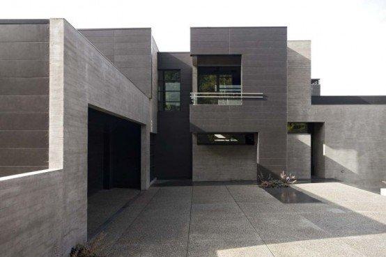 Dise o de la casa moderna casas y fachadas for Techos de concreto para casas