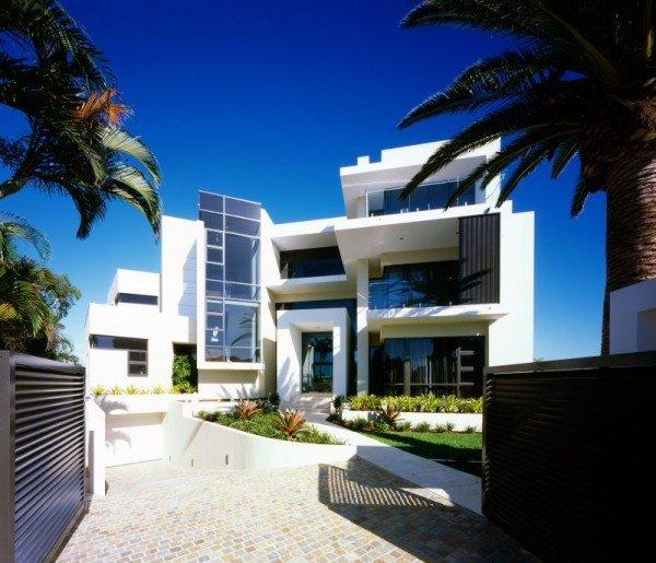 Casa moderna cerca del mar excentricidad y estilo casas y for Amazing house designs australia