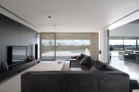 modern wohnzimmer design:Inside Big Houses with Windows