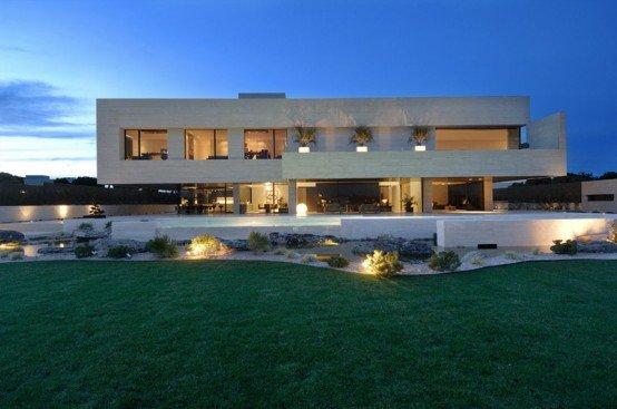 Casa minimalista 103 for Casa de lujo minimalista y espectacular con piscina por a cero