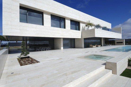 casa minimalista de lujo casas y fachadas