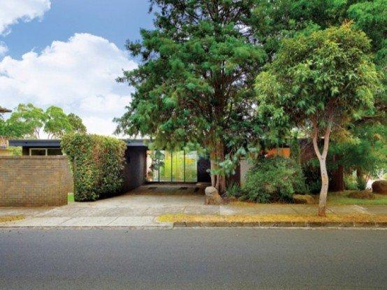 Casas con patio interior moderno   modern patio & outdoor