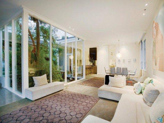 Leonardo ghiraldini casas modernas por dentro for Casas pintadas por dentro