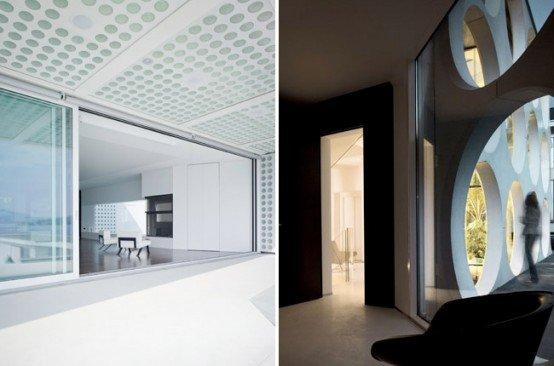 Casa moderna blanca casas y fachadas - Casas blancas modernas ...