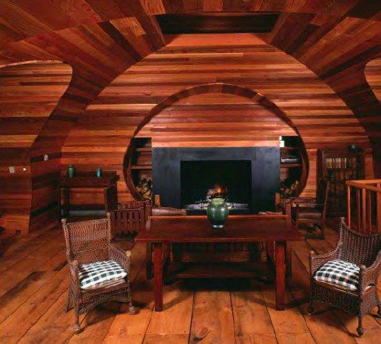 Casa de esqui 2 - Interiores de madera ...