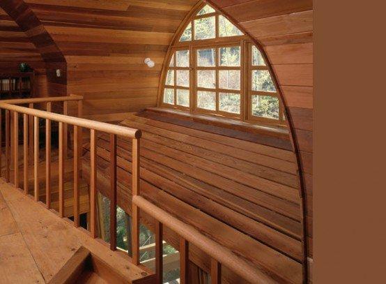 Casa de madera casas y fachadas - Fotos de casas de madera por dentro ...