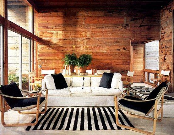 Casa de madera por bates massi casas y fachadas - Fotos de casas de madera por dentro ...