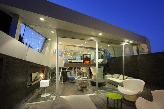 Casa de dise o moderno casas y fachadas - Casas diseno moderno ...