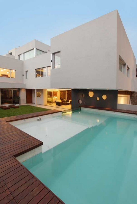 Casas modernas con piscina casas y fachadas - Casas modernas con piscina ...