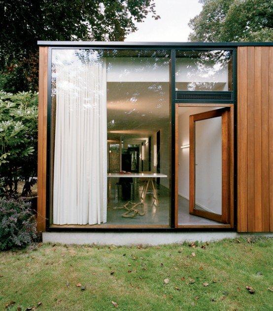 Casa de paredes de vidrio 5 - Paredes de vidrio exterior ...