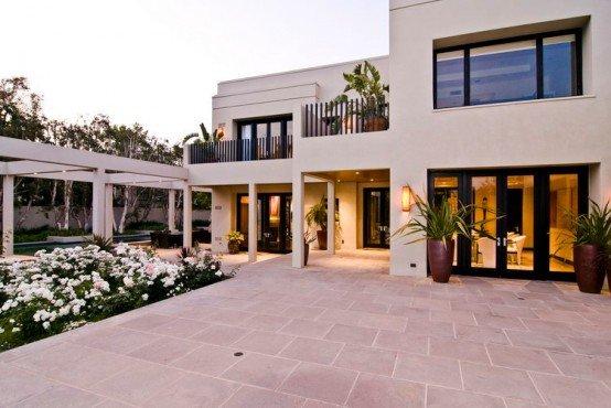Casas grandes casas y fachadas for Casa minimalista grande