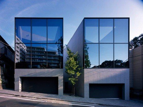 La Casa Japonesa Moderna Casas Y Fachadas