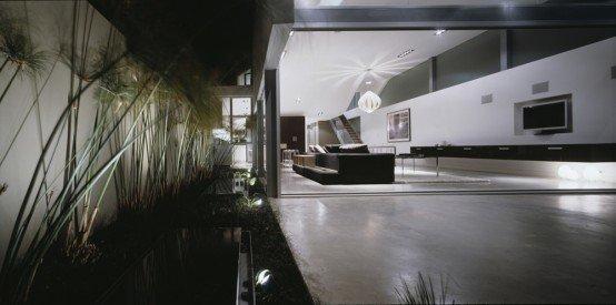 Casa minimalista en la playa casas y fachadas casas y for Casa minimalista 4 5x15