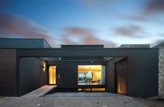 La casa de dise o contempor neo casas y fachadas - Apartamentos para parejas ...