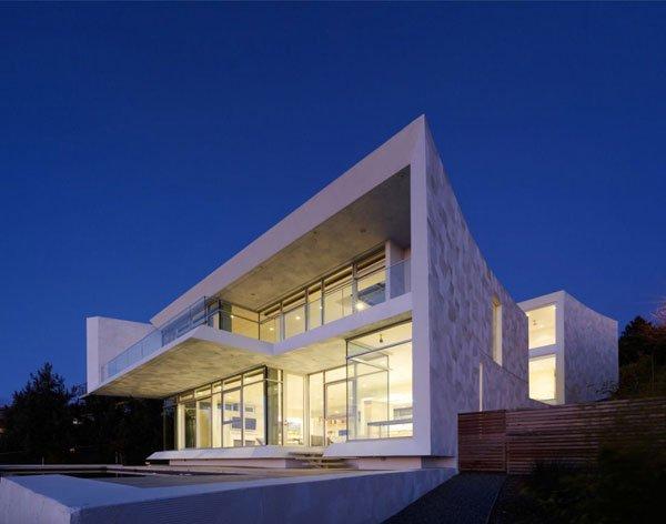 Casas residenciales casas y fachadas for Casas residenciales minimalistas