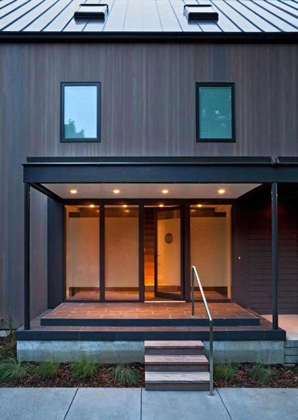Fachadas contemporaneas casas y fachadas for Casa minimalista 4 5x15