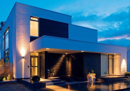 Modelos de casas modernas casas y fachadas for Casa moderna imagen
