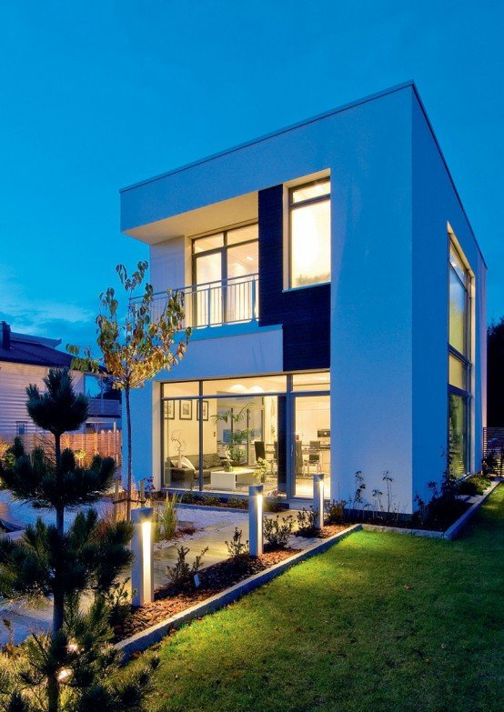 fachada de casa asi tica moderna con toques de lujo