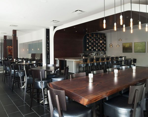 Fachada moderna de restaurantes vesu en walnut creek for 13 salon walnut creek