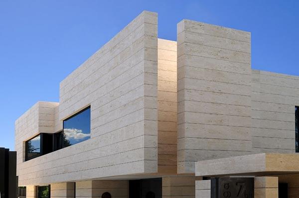 Casa que mezcla los l mites entre arte y arquitectura - Materiales para fachadas modernas ...