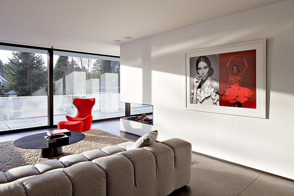 Fotos de residencias modernas casas y fachadas for Interiores de casas minimalistas modernas