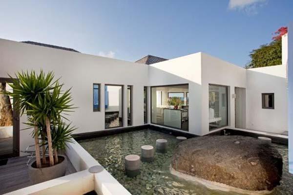 Bien equilibrado y relajante casa de vacaciones en st for Casa moderna ud