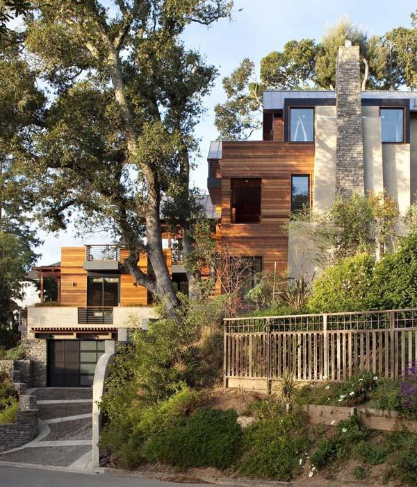 Casas sostenibles casas y fachadas for Mill valley architects