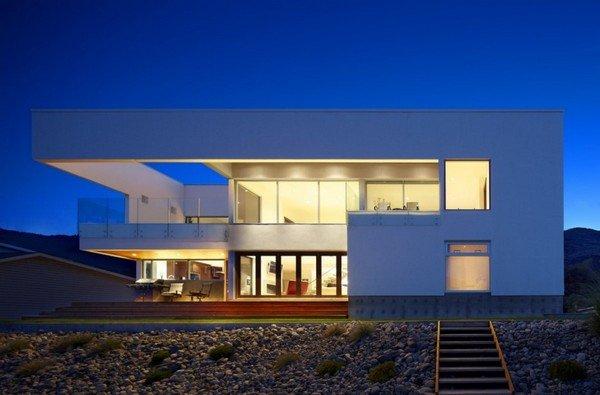 Moderna residencia sostenible de recreo en canad casas y for Top 10 beach house designs