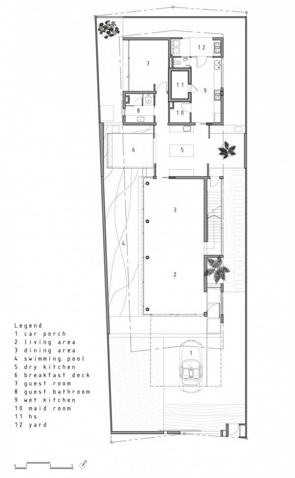 planos de casas lineales
