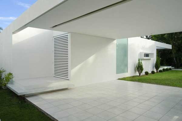 Casa minimalista funcional y eficiente casa carqueija en for Casa minimalista caracteristicas