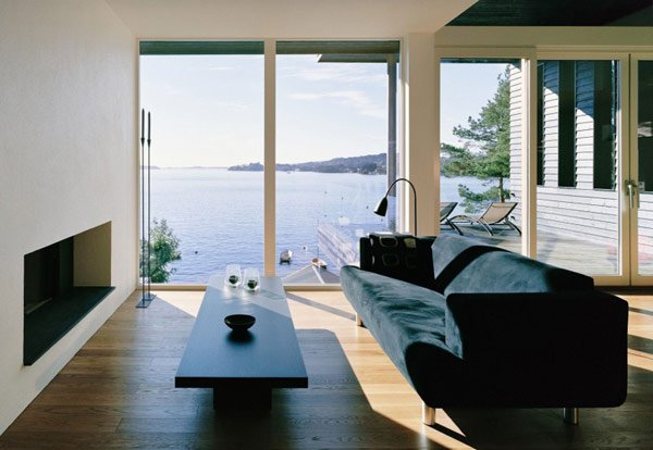 Fachada De Casa En Madera En Noruega Villa Storingavika Casas Y