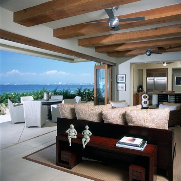 Fotos de casas de playa casas y fachadas for Modern beach house decorating ideas