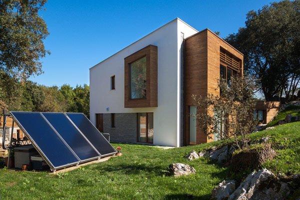Fachadas de casas ecologicas casas y fachadas - Casas ecologicas en espana ...
