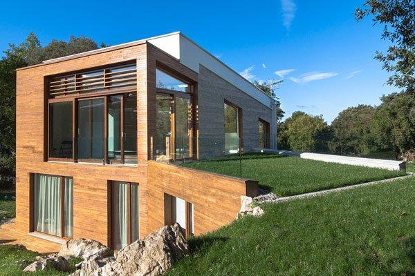Fachadas de casas ecologicas casas y fachadas - Casas y casas ...