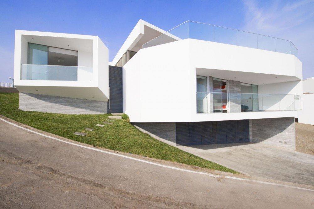 Casas en pendientes casas y fachadas - Casa con terreno murcia ...