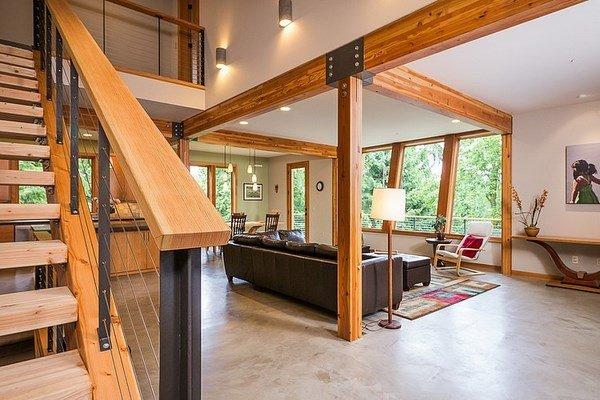 Fachada de casas de campo casas y fachadas for Interior de la casa de madera moderna
