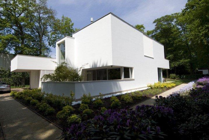 Fotos de fachadas irregulares casas y fachadas - Foto gevel moderne villa ...
