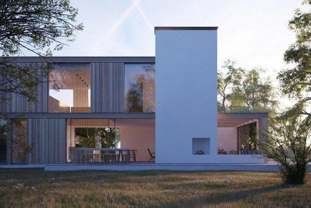 Casas Prefabricadas pequeu00f1as y contemporu00e1neas: Fu00e1cil de construir y ...